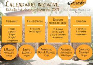 Calendario Eventi Sodc Estate Autunno Inverno 2021